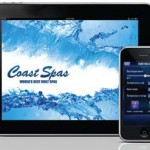 Fingertip control of home spas is only a phone call away for owners of Coast Spas hot tubs.