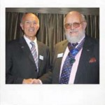 After two years in office, Alan Pugh, left, handed over the ISPE presidency to Howard Gosling at the recent Institute annual general meeting.