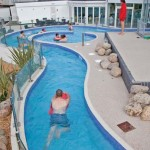 Aquascapes added this impressive 60 metre lazy river with rapids section, umbrella fountain and relaxation area to the Haven's Holiday site in Weymouth.