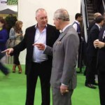 Making his second visit consecutive visit to the Ideal Home Show, HRH the Prince of Wales met Hydropool UK's managing director Jonathan Bunn at the Ideal Home Show 2012