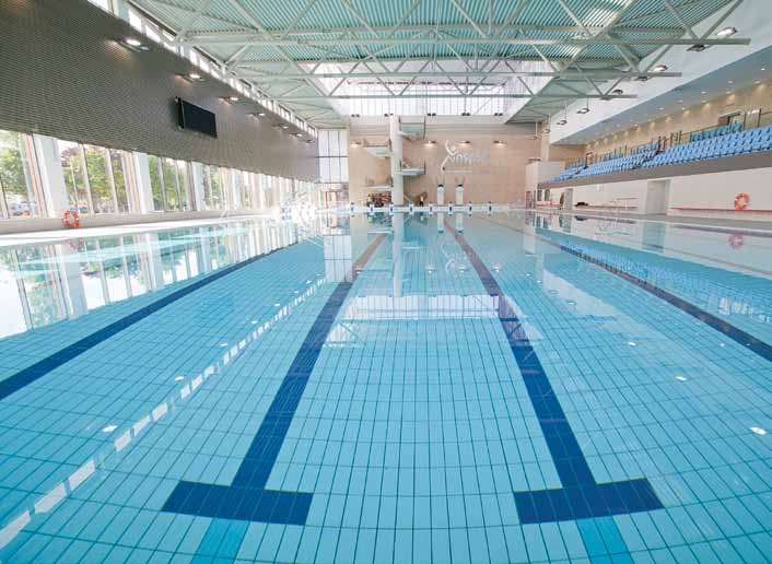 Inspire Sports Village Will Live Up To Its Name Pool And Spa Scene