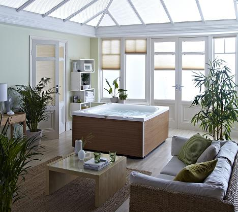 Jacuzzi's City Spa offers a new home wellness concept in which design and cutting-edge technology blend for a multi-sensorial experience.