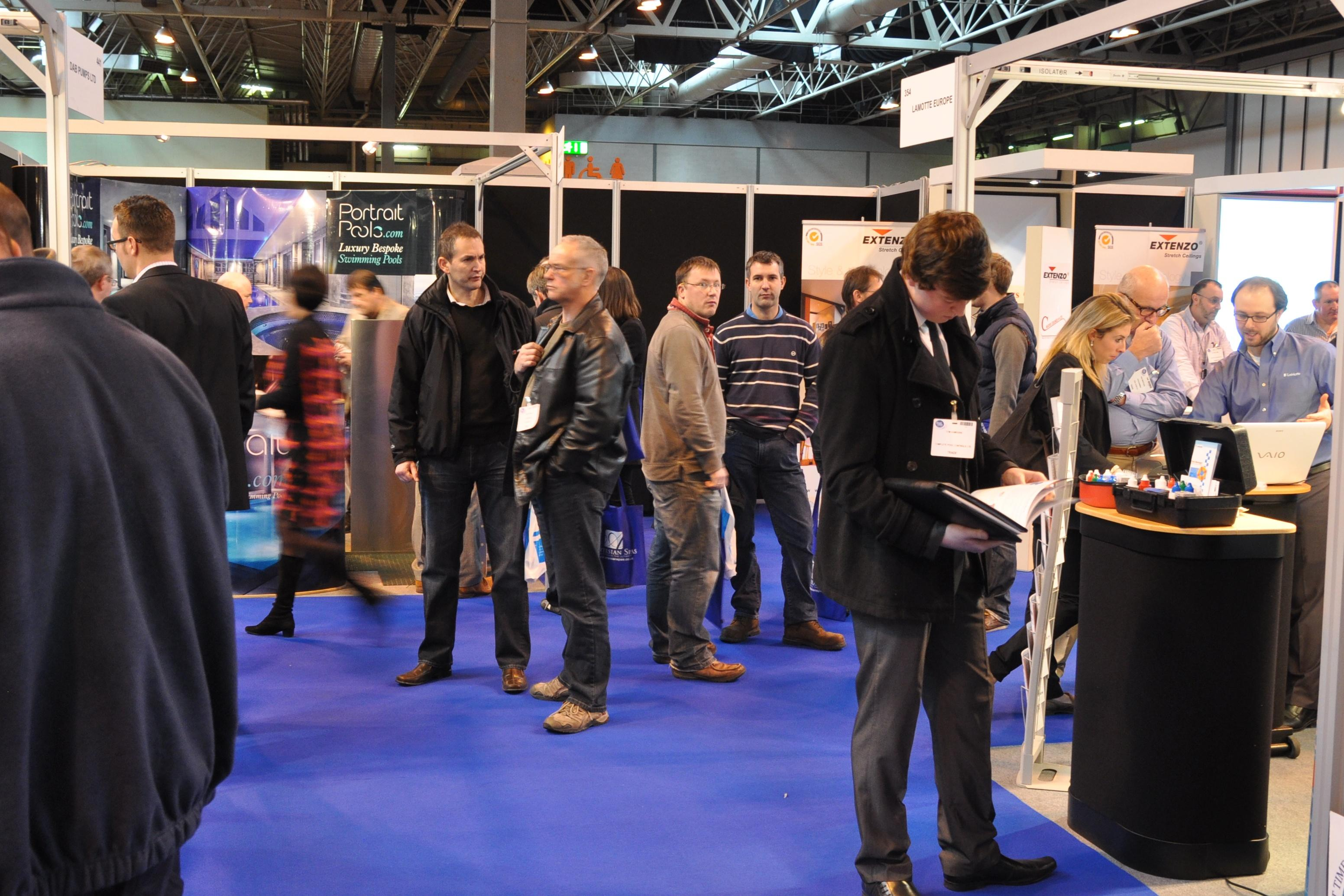 Major nspf coup for uk pool spa expo pool and spa scene for Pool expo show