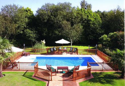 The Oyster Pools and Leisure completely transformed this residential pool into a fabulous asset for its lucky owners.