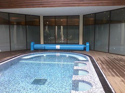 Pre-tiled, pre-plumbed all in one pools like the Signature Pool minimise down time for commercial venues