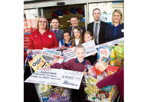 Pupils and staff from two primary schools in Hastings were lucky enough to receive a donation of £500 from Tesco to go towards improvements at the school pools.