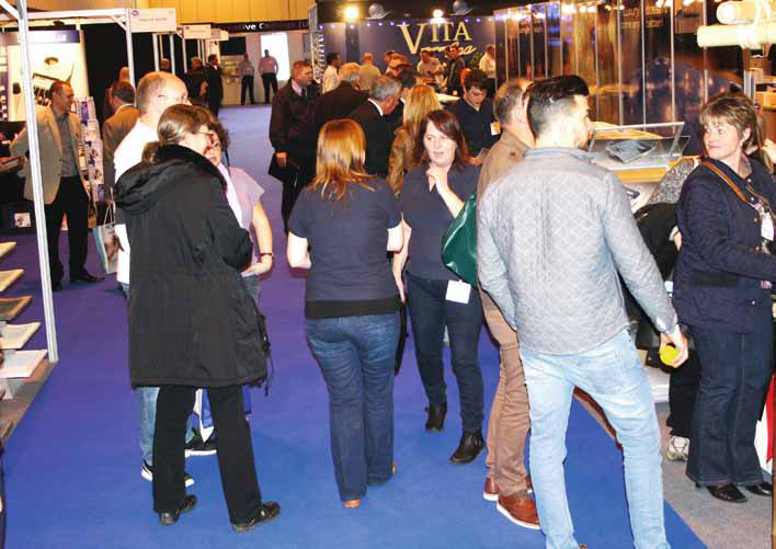 Unsurpassed accessibility via road, rail and air this fresh event helped attract strong visitor footfall despite the threat of severe weather problems.