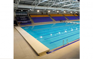 The main pool at the Tollcross Swimming Centre will host the swimming competitions and is expected to draw crowds from all over the world.
