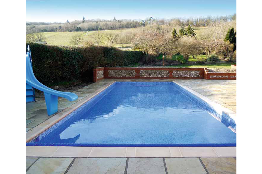 Pool is country living finishing touch pool and spa scene for Bespoke swimming pools