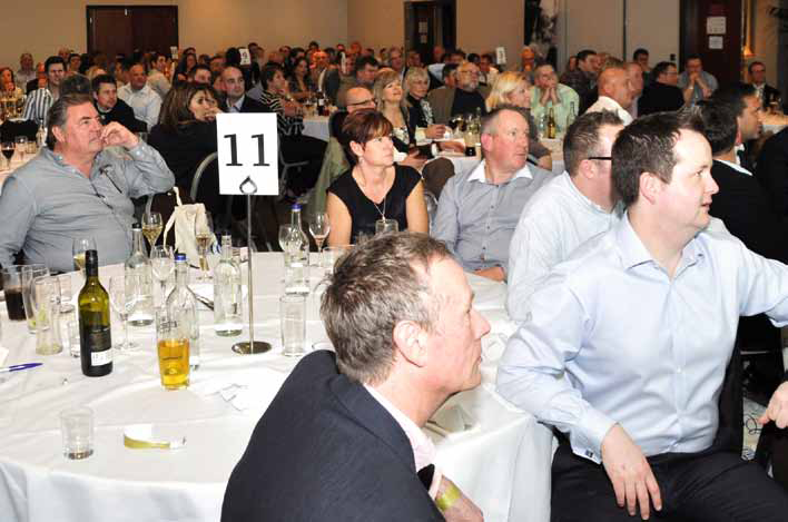 There was a sell-out crowd at this year's UK Pool & Spa Awards, a business networking style event aimed at promoting the whole of the water leisure sector.