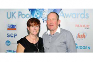 Creative Ceilings won the UK Pool & Spa Expo award for best stand in show.