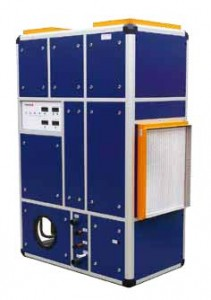 Heatstar's low energy Phoenix EC environmental control unit can enhance the heat saved from the expelled air to over 90 per cent.