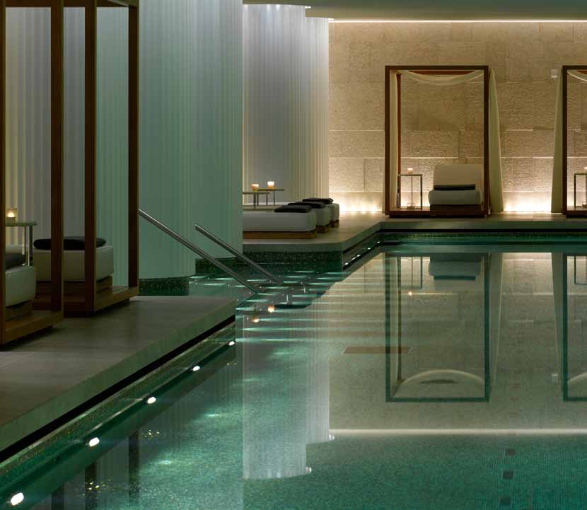 The Spa At Bulgari Hotel U0026 Residences In Knightsbridge, London Is Set Over  Two Floors, And Comprises Of A 25m Swimming Pool, Vitality Pool, ...