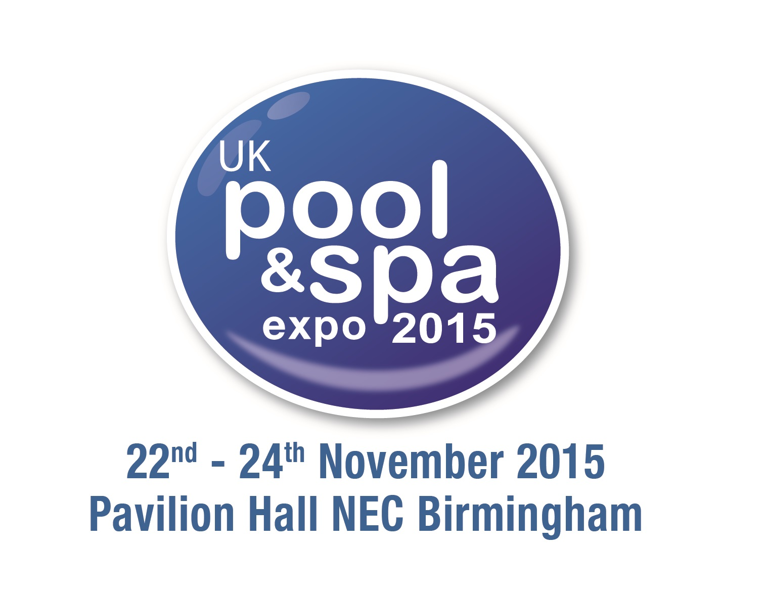 Uk pool spa expo announces new dates pool and spa scene for Pool trade show 2015