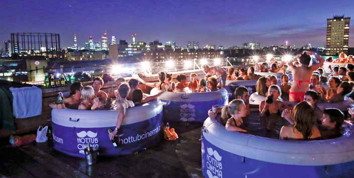 Hot Tub Cinema tickets are selling like hot cakes, with new shows in London opening later this summer.