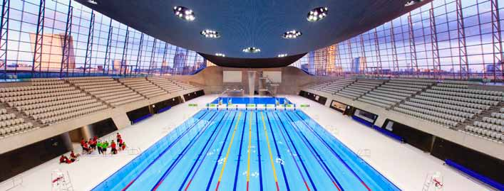 Managed by GLL, the London Aquatics Centre opened in March 2014, following the success of 2012 London Olympic and Paralympic Games.