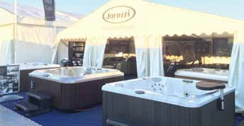 Jacuzzi focused on the past and the future at the recent Goodwood Revival festival in West Sussex.