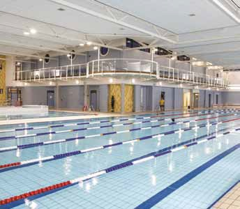 The pool at Greenvale Leisure Centre has been recognised by PWTAG for its water safety and cleanliness.