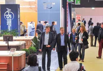 Aquanale 2015 is expected to be bigger and better than ever before with an increased floor space for visitors and exhibitors.