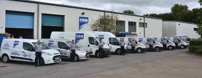 Specialising in water treatment and filtration, Sterling Hydrotech's service department has expanded considerably in the last four years.