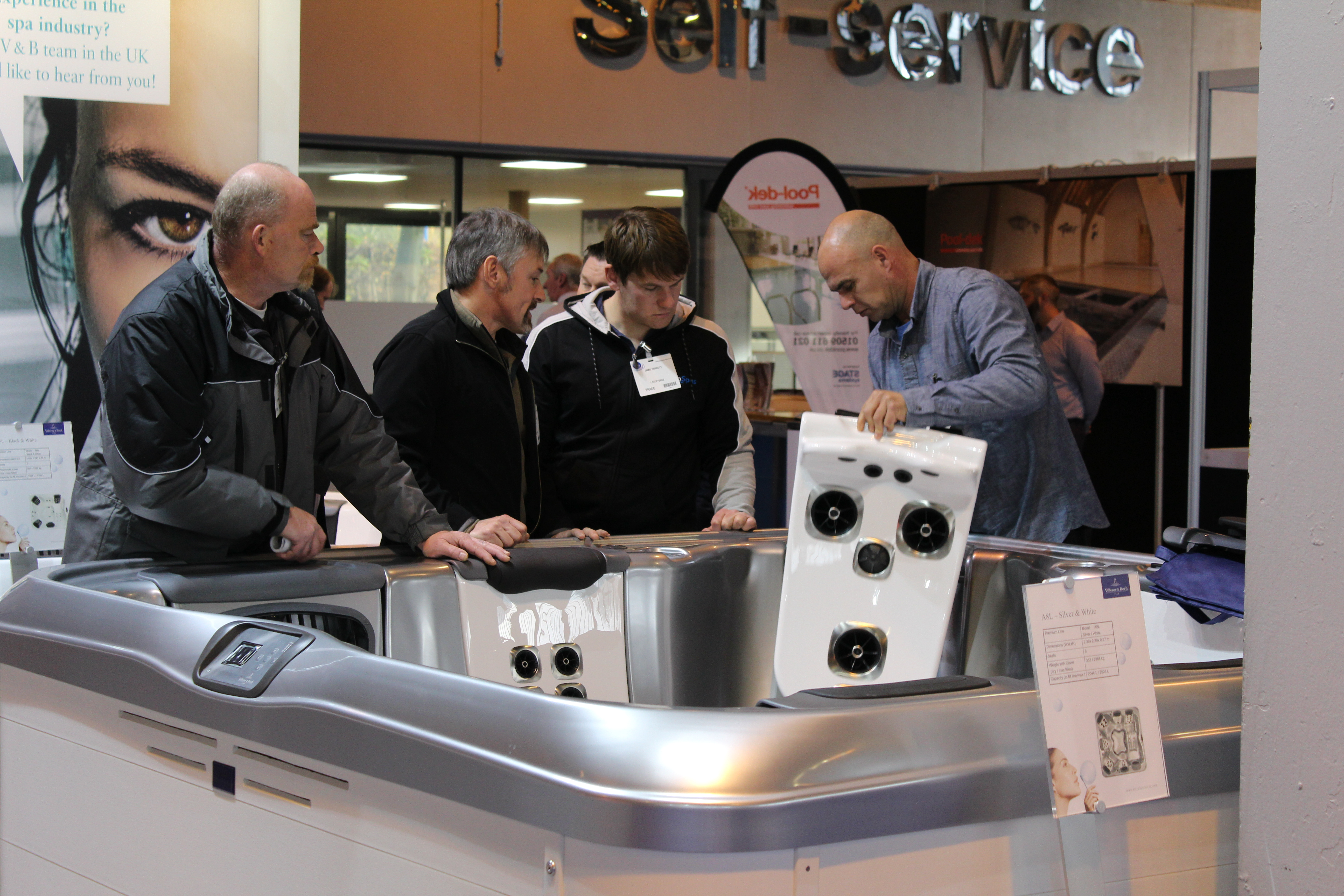 New look expo bounces back for Pool and spa expo