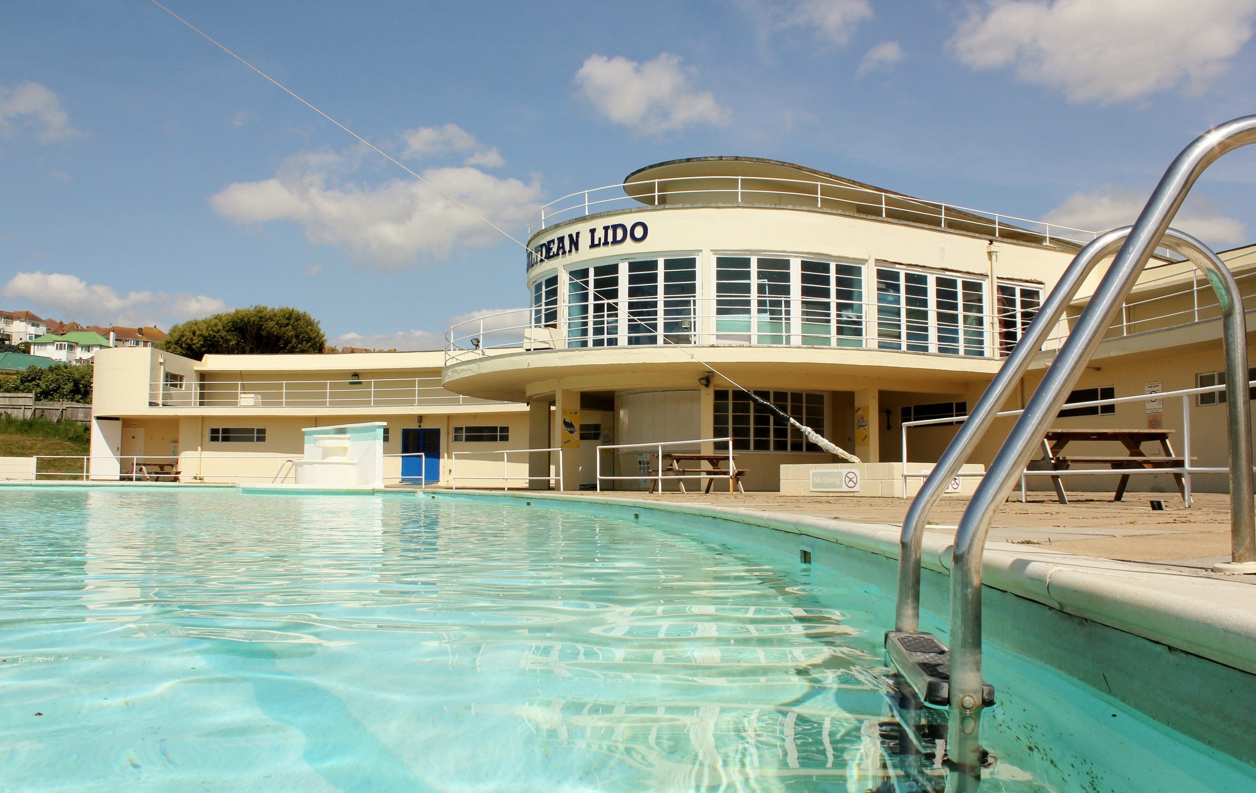 Saltdean Lido hopes to raise £70,000 towards renovations, partly funded by the 'Name on a Brick' initiative