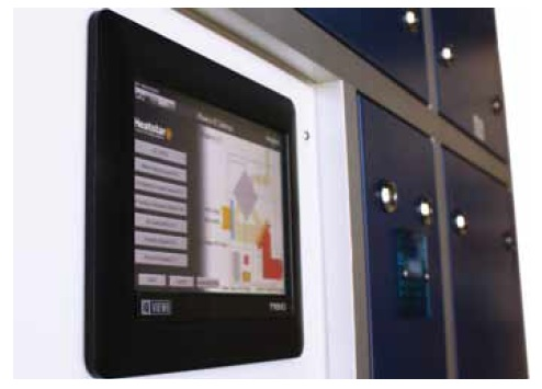 Enabling users to access and interact directly with their Heatstar system,the Lynx offers a state-of-the-art touch-screen interface.