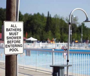 Good hygiene including pre-swim showering will help combat the threat of cryptosporidium outbreaks.