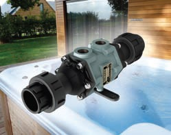 The EC80 from Bowman enables hot tubs to be heated via a domestic or commercial heating system, dramatically reducing energy costs.