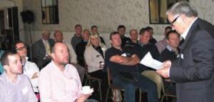 New ISPE President John Cheek, FISPE, addressed delegates at the seminar November seminar, held at Walton Park Hotel in Somerset.