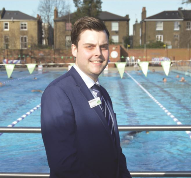 Martin Young is supported in his role as general manager by a team of 20 staff who oversee the day-to-day running of the lido.