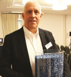 Certikin managing director, Neil Murray, showcases the newly launched OC-1 filtration solution.