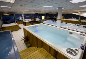 Hydropool UK showroom in Portsmouth, which boasts four operational swim spas and 15 hot tubs, was named Best Showroom.