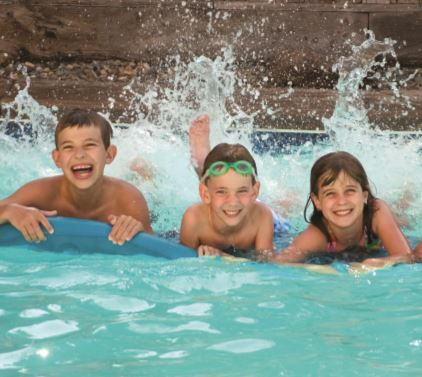 Swimming pools are at the top of garden wish lists, according to new research.