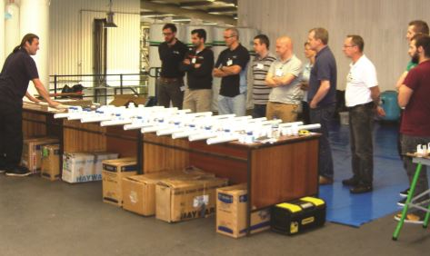 An excellent hands-on day the workshop is ideal for those new to the trade or even more experienced fitters.