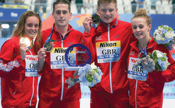 Team GB swimmers will be hoping for Olympic Gold success this summer in Rio.