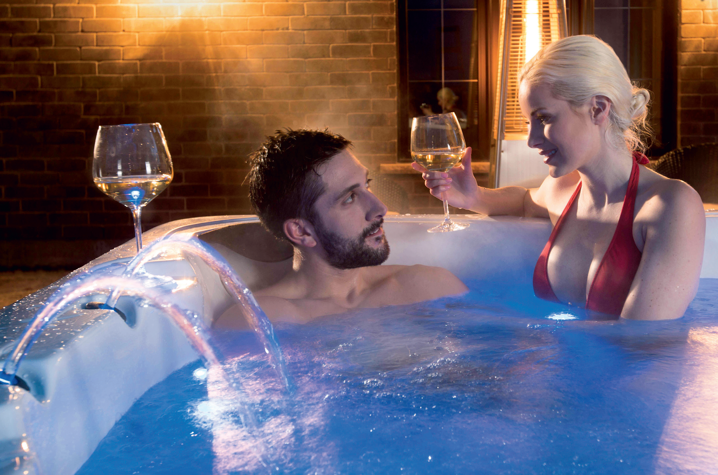 Most hot tub purchases are driven by social and relaxation needs but the health and wellness market is growing. Pic: Vita Spa.