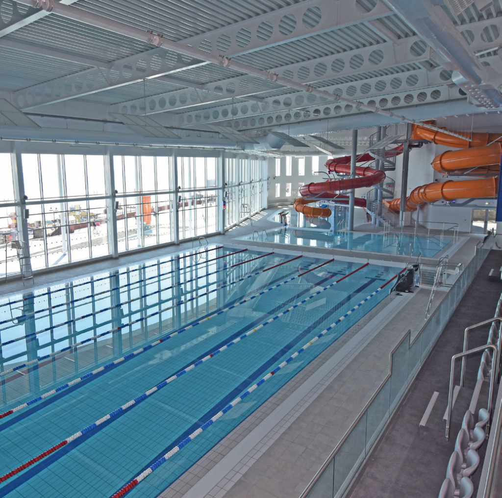 East Riding Leisure Bridlington boasts a six-lane 25m swimming pool, a smaller learner pool, a freeform pool with water features.