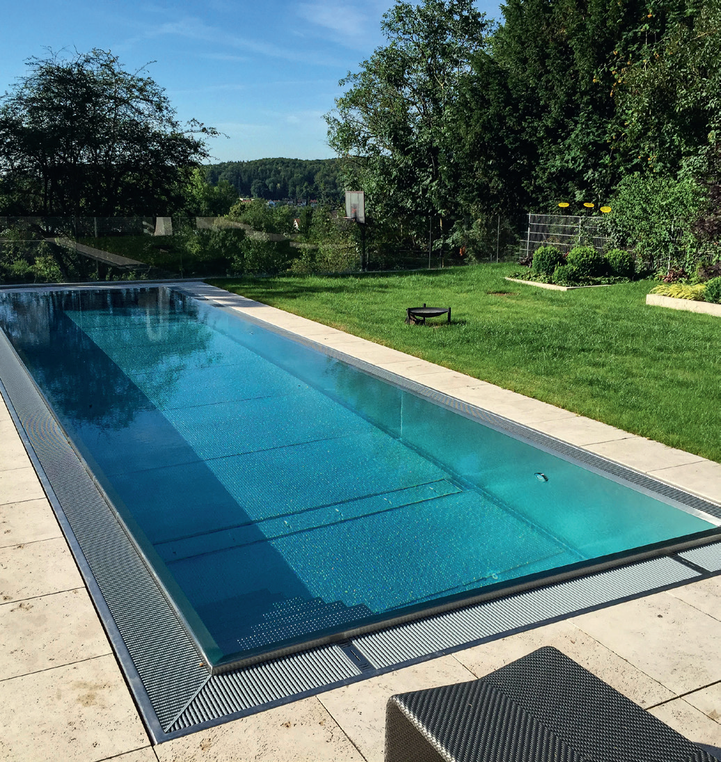 major benefit of the Classic Modular pool range is the speed of build.
