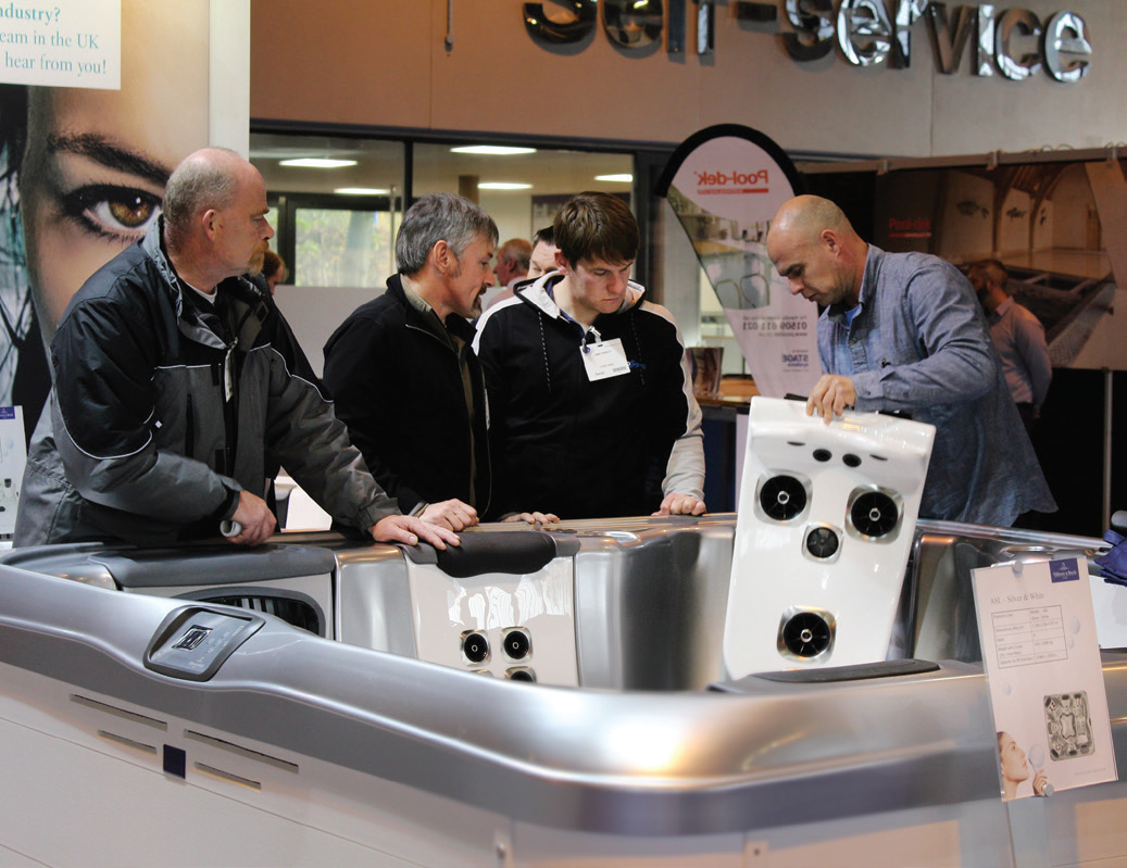 The Hot Tub Living Expo will return to the NEC in Birmingham from October 24 – 25.