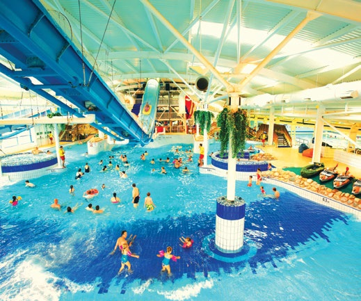 Holiday park operator Butlins says that their swimming pools, like the one at Butlins Minehead, is the second main reason that guests return each year.