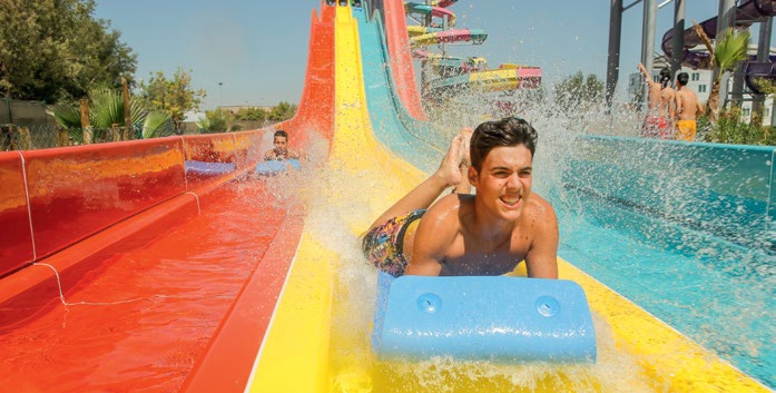 Tyumen Waterpark in Russia will feature more than ten Polin waterslides.