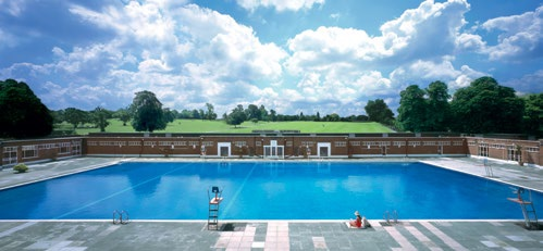 Brockwell Lido, London. One of the most famous Lidos in London and endearingly known as Brixton's Beach, this historic Lambeth venue is famed for its strong community spirit and relaxed atmosphere. The Olympic size 50m pool is surrounded by a Grade II listed art deco building, housing a state-of-the-art gym and studios, as well as a hydrotherapy pool and health suite. www.fusion-lifestyle.com