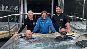 The team from Castle Hot Tubs enjoyed a successful show season