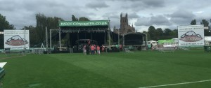 Arctic Spas attended the Concert of Legends event at Worcestershire County Cricket Club in September