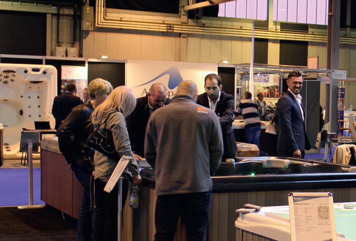 An impressive line-up of hot tubs and swim spas will be on display at the two-day show.