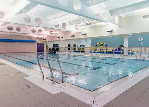 The new Tewkesbury Leisure Centre includes a main five lane, 25m pool and a 20m learner pool.