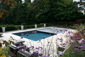 A fully automated cover system, such as those from Aquamatic, will completely cover the pool in a matter of minutes simply at the touch of a button. Pic: Tanby Swimming Pools.