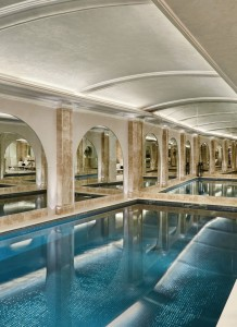 APP designed and built a luxury bespoke basement swimming pool and steam room within a townhouse in Belgravia, London.
