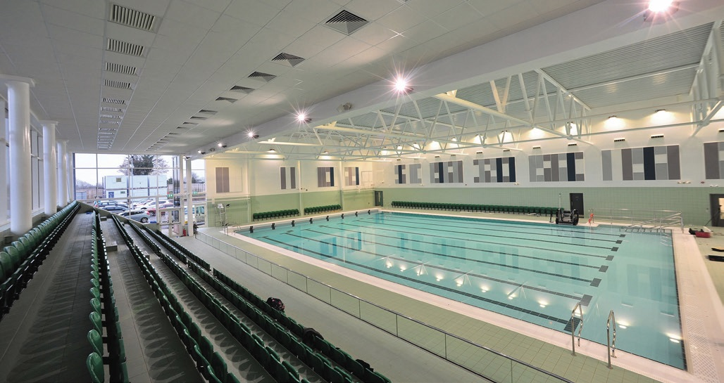 The new Perdiswell Leisure Centre has put Worcester on the sporting map.